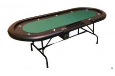 Τραπέζι Πόκερ Οβάλ Dealer 240cm Πράσινο