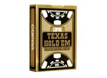 Τράπουλα Copag Texas Jumbo Μάυρη