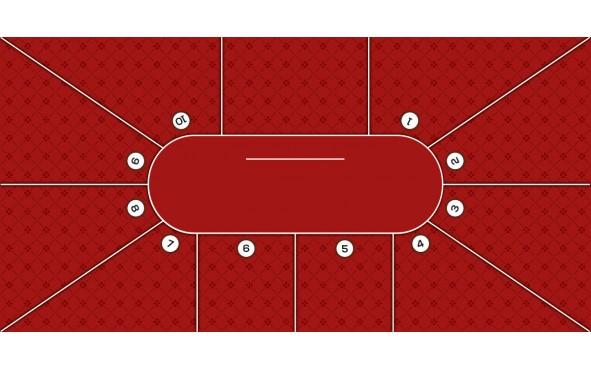 Τσόχα Texas Poker 10 Παίχτές 300x145 Μπορντό