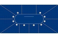 Τσόχα Suit 10 Παίχτές 300x145 Μπλε